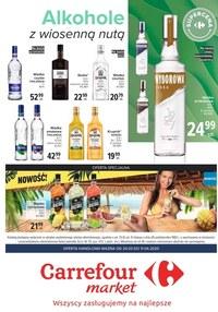 Gazetka promocyjna Carrefour Market - Alkohole w Carrefour Market