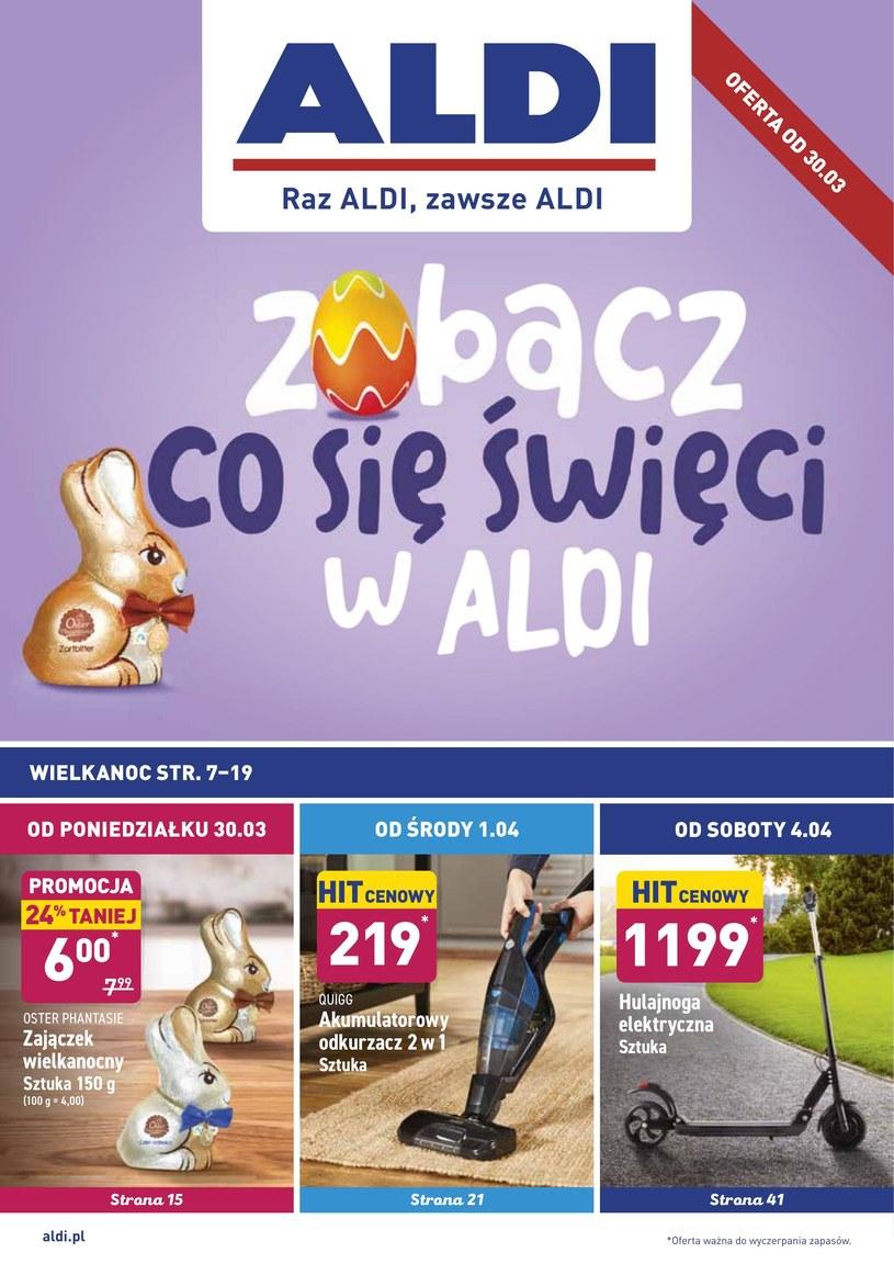 Gazetka promocyjna Aldi - ważna od 30. 03. 2020 do 05. 04. 2020