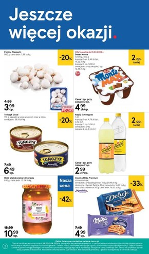 Promocje w Tesco Supermarket!