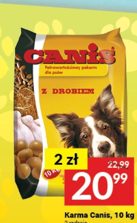 Karma dla psa Canis