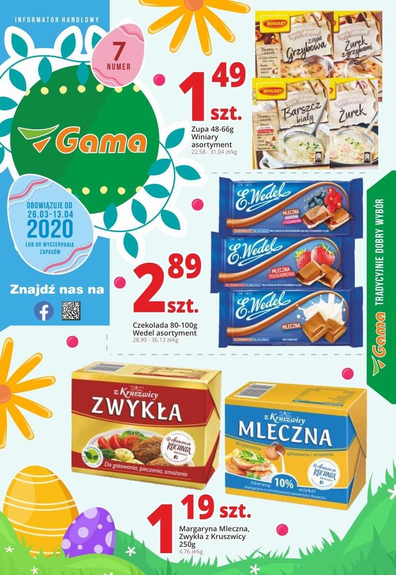 Gazetka promocyjna Gama - ważna od 26. 03. 2020 do 13. 04. 2020