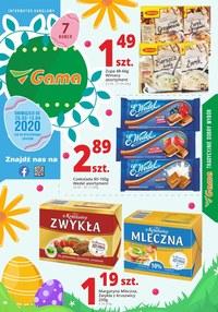 Gazetka promocyjna Gama - Promocje Wielkanocne w sklepach Gama - ważna do 13-04-2020