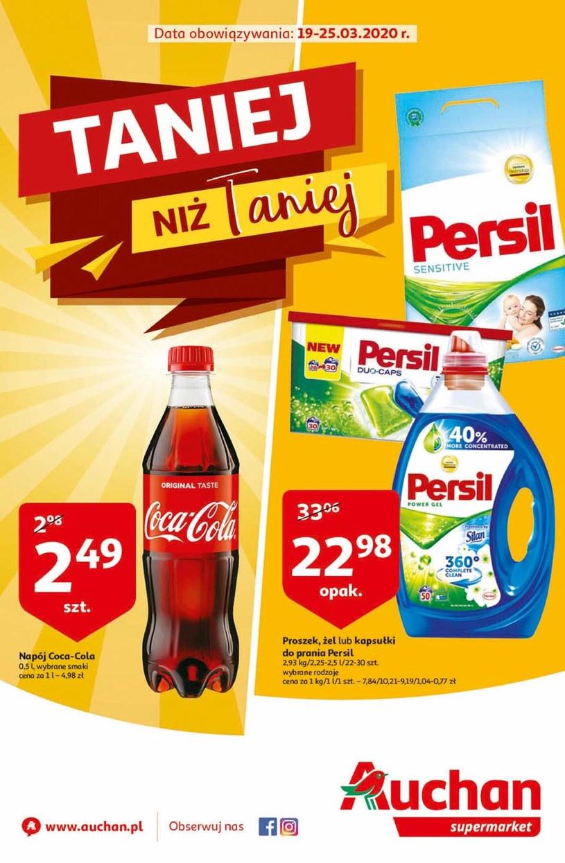 Gazetka promocyjna Auchan Supermarket - wygasła 72 dni temu