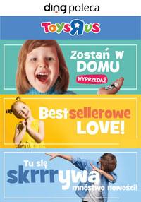 """Gazetka promocyjna Toys""""R""""Us - Zostań w domu z zabawkami z Toys""""R""""Us - ważna do 05-04-2020"""