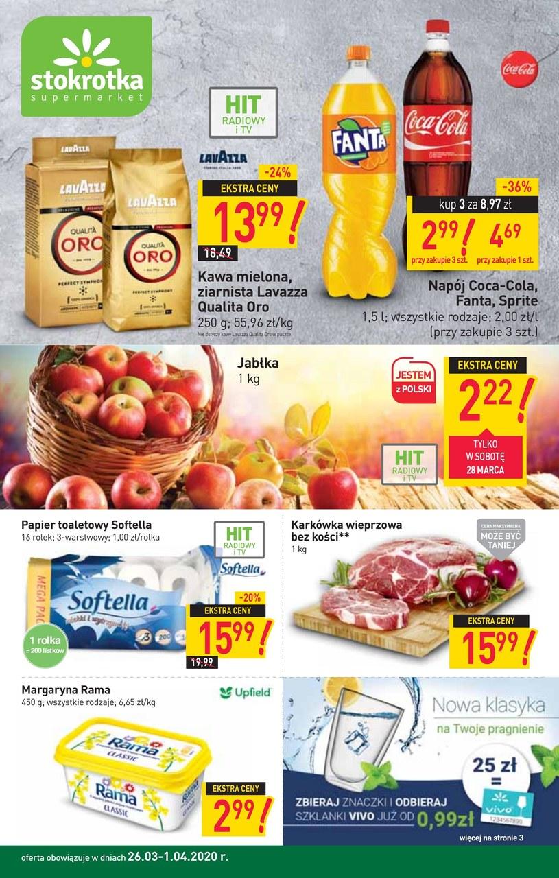 Gazetka promocyjna Stokrotka Supermarket - ważna od 24. 03. 2020 do 02. 04. 2020