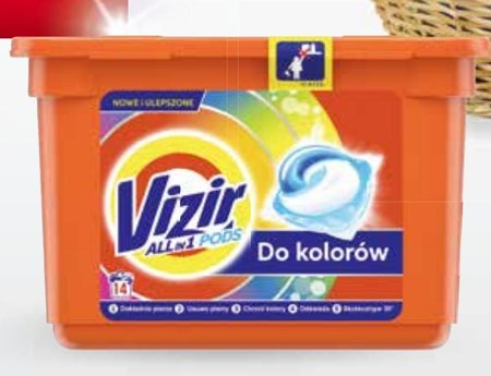 Kapsułki do prania Vizir