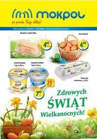Gazetka promocyjna Mokpol - Zdrowych świąt Wielkanocy życzy Mokpol! - ważna do 11-04-2020