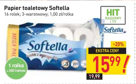 Papier toaletowy Softella