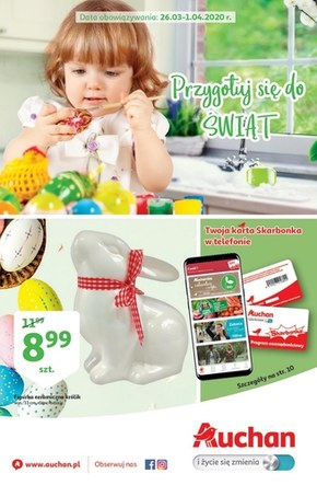Przygotuj się do świat z Auchan HIpermarket!