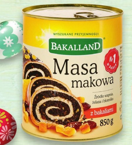 Masa makowa Bakalland