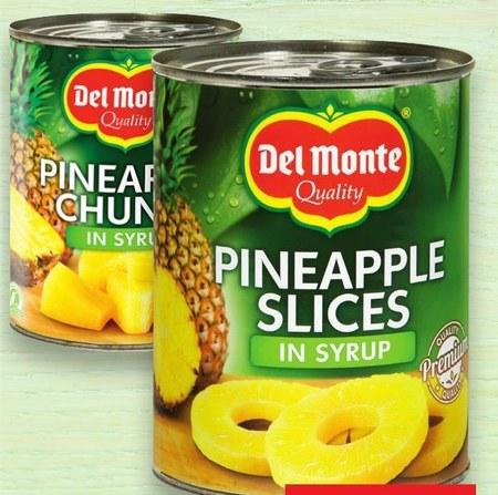 Ananas w puszce Del Monte