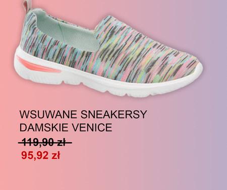 Sneakersy damskie Deichmann