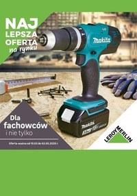 Gazetka promocyjna Leroy Merlin - Katalog Fachowcy Leroy Merlin - ważna do 02-05-2020