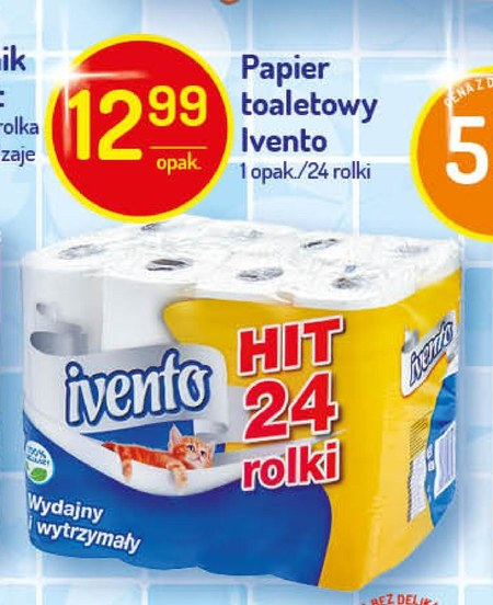 Papier toaletowy Ivento