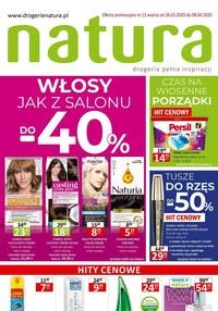 Gazetka promocyjna Drogerie Natura - Włosy jak z salonu z Drogerią Natura - ważna do 08-04-2020
