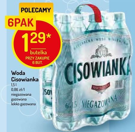 Woda mineralna Cisowianka