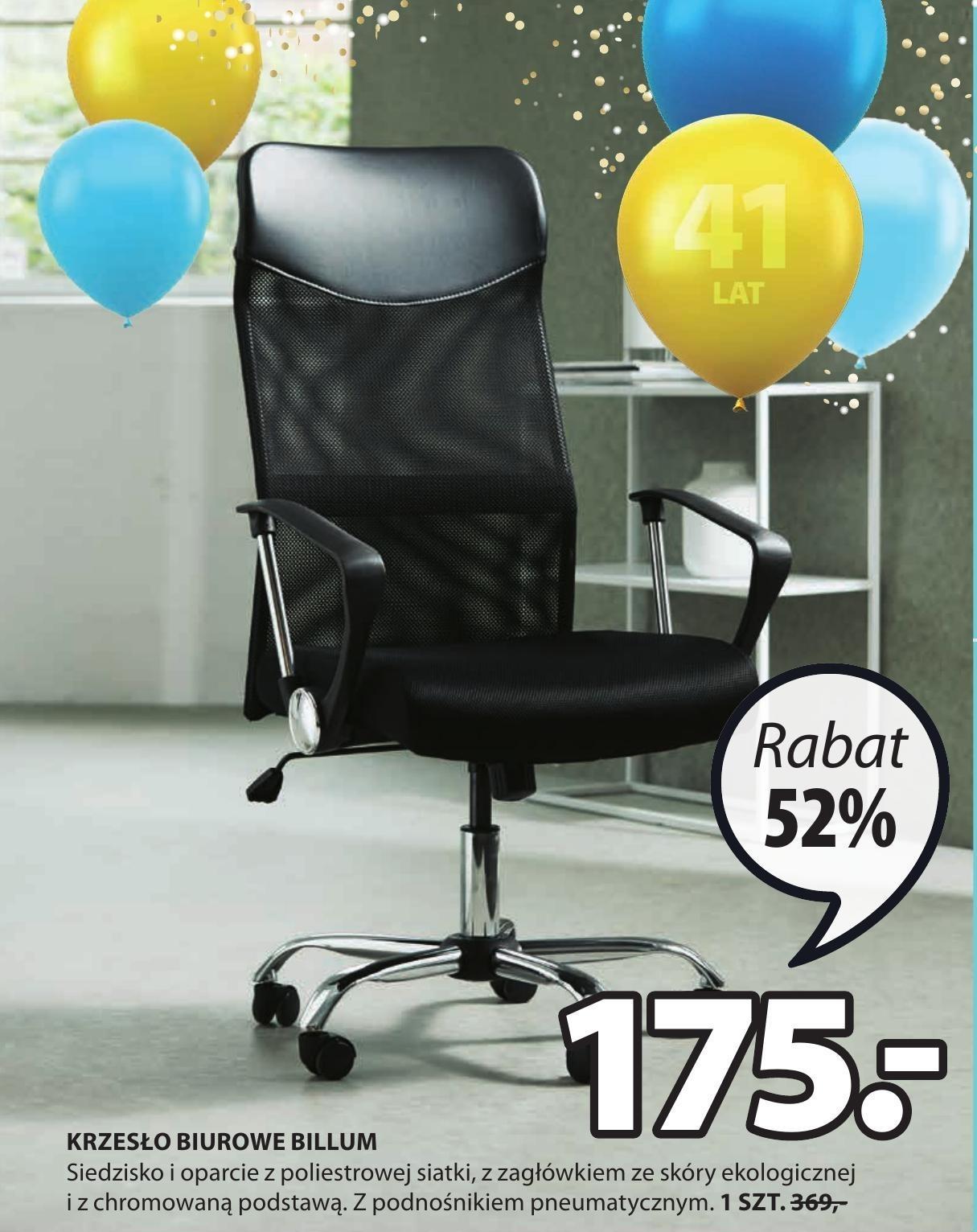 Krzesło biurowe Jysk niska cena