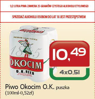 Piwo Okocim niska cena