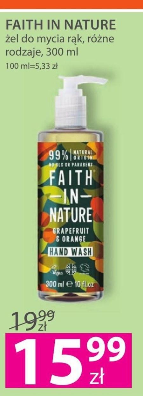 Żel do mycia rąk Faith in Natura