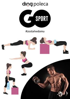 Zostań w domu i ćwicz z Go Sport