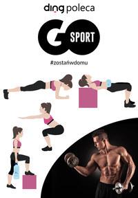 Gazetka promocyjna GO Sport - Zostań w domu i ćwicz z Go Sport - ważna do 11-04-2020