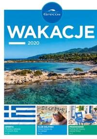 Gazetka promocyjna Grecos Holiday - Lato 2020 w Grecji z Grecos - ważna do 20-09-2020
