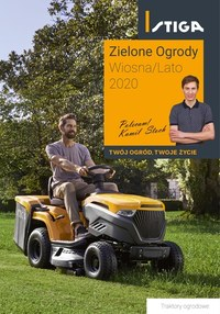 Gazetka promocyjna Stiga - Traktory ogrodowe Stiga  - ważna do 31-08-2020
