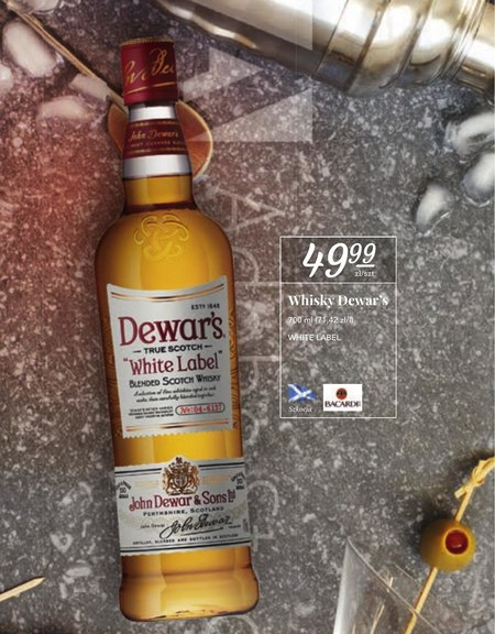 Whiskey Dewar's