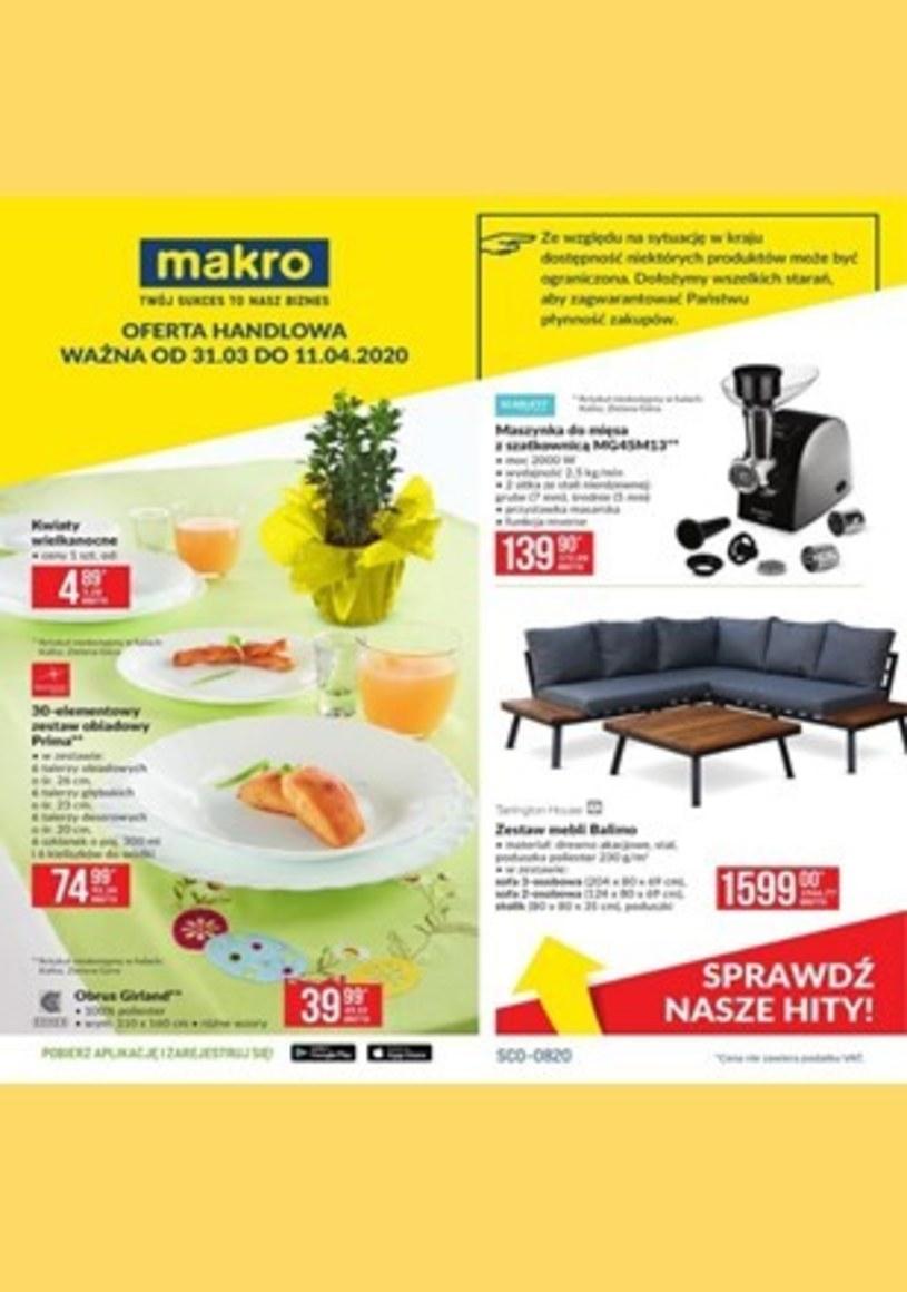 Gazetka promocyjna Makro Cash&Carry - ważna od 31. 03. 2020 do 11. 04. 2020