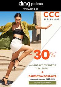 Gazetka promocyjna CCC - Wiosenna moda w CCC! - ważna do 12-04-2020