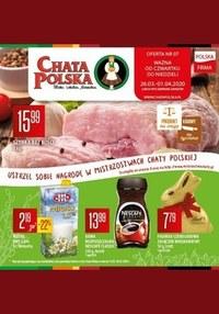 Gazetka promocyjna Chata Polska - Mistrzostwa Chaty Polskiej!  - ważna do 01-04-2020