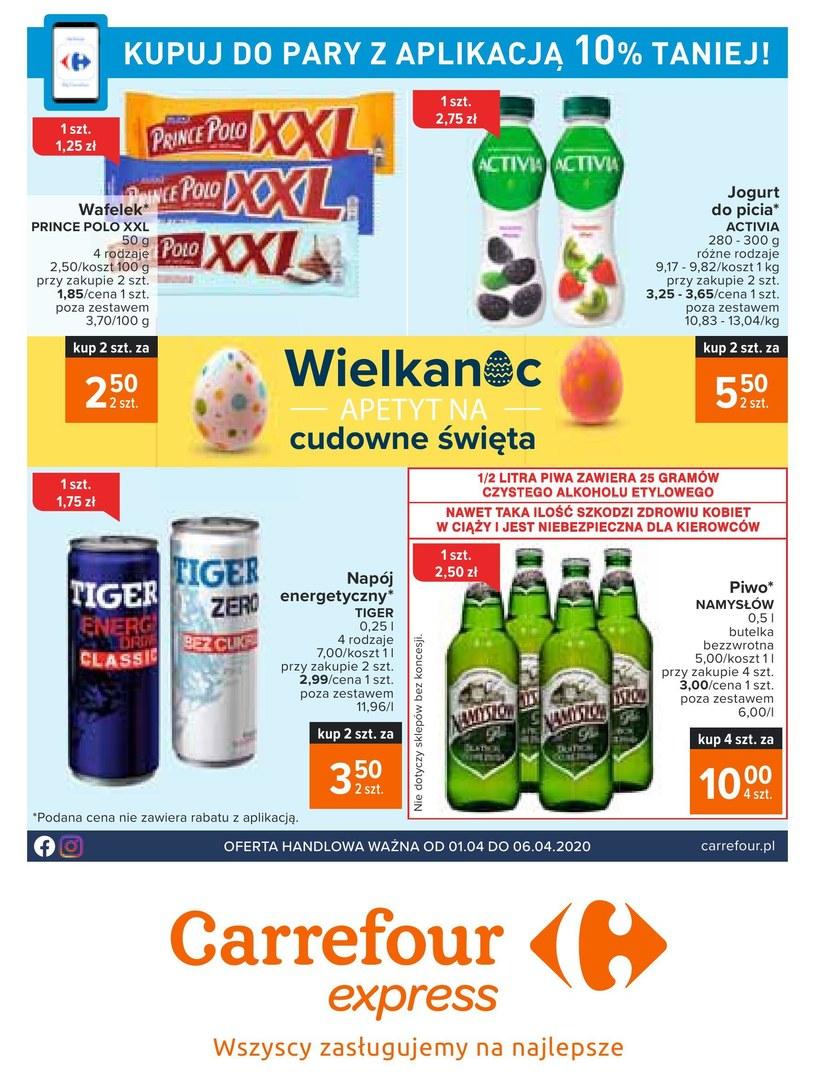 Gazetka promocyjna Carrefour Express - ważna od 01. 04. 2020 do 06. 04. 2020