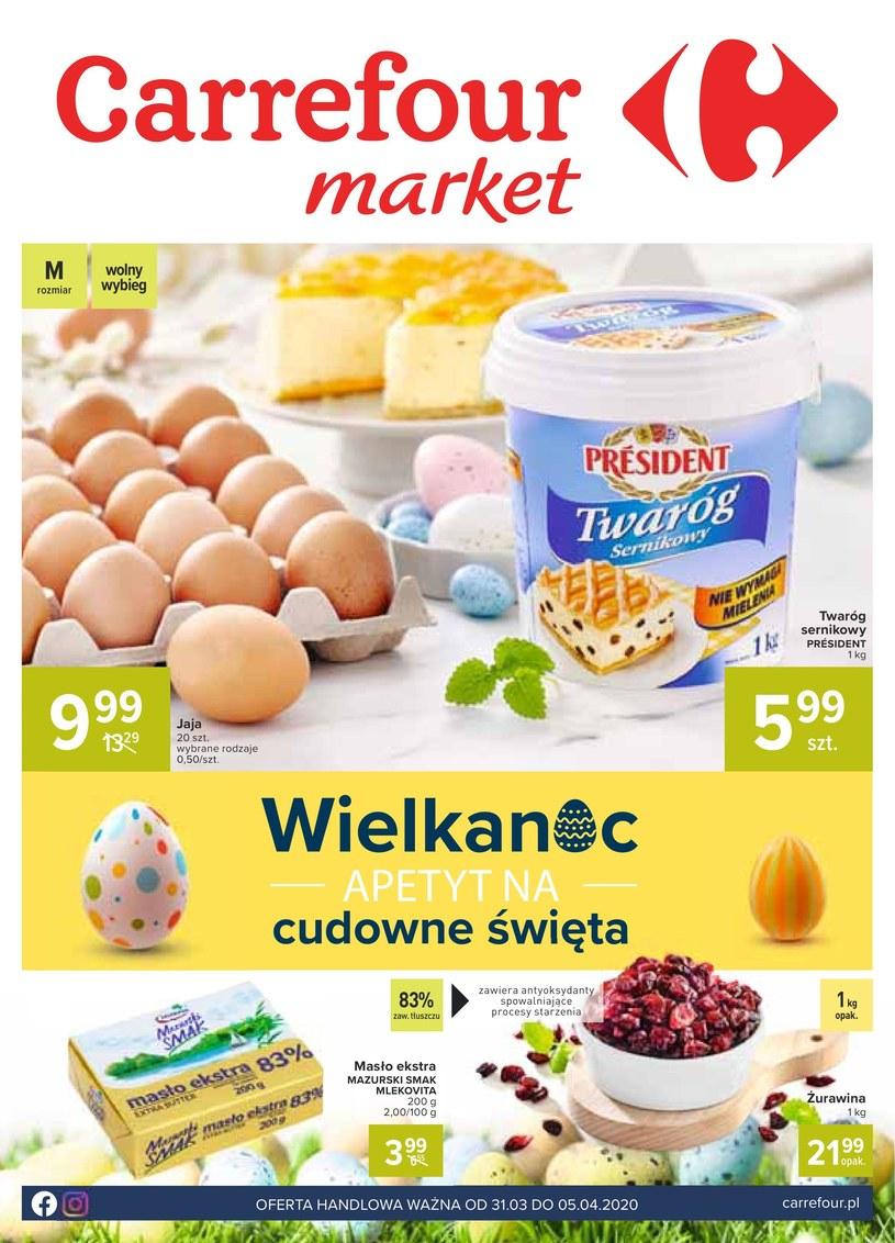 Gazetka promocyjna Carrefour Market - ważna od 31. 03. 2020 do 05. 04. 2020