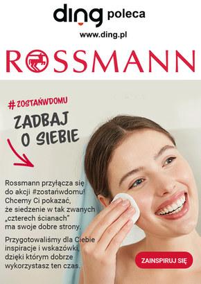 Zostań w domu i zadbaj o siebie - Rossmann