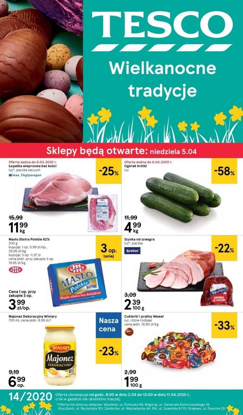 Gazetka promocyjna Tesco Centra Handlowe - ważna od 02. 04. 2020 do 11. 04. 2020