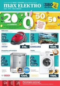 Gazetka promocyjna Max Elektro - Świąteczne promocje w Max Elektro - ważna do 27-04-2020