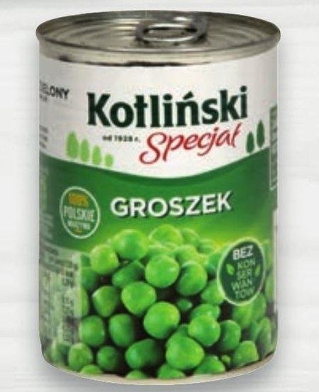 Groszek konserwowy Kotliński Specjał