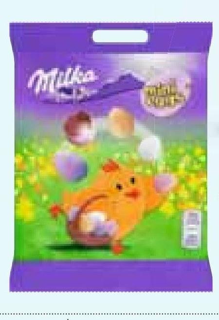 Jajka czekoladowe Milka