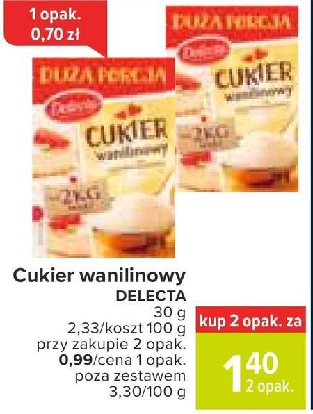 Cukier wanilinowy Delecta