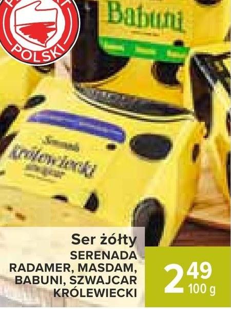 Ser żółty Serenada