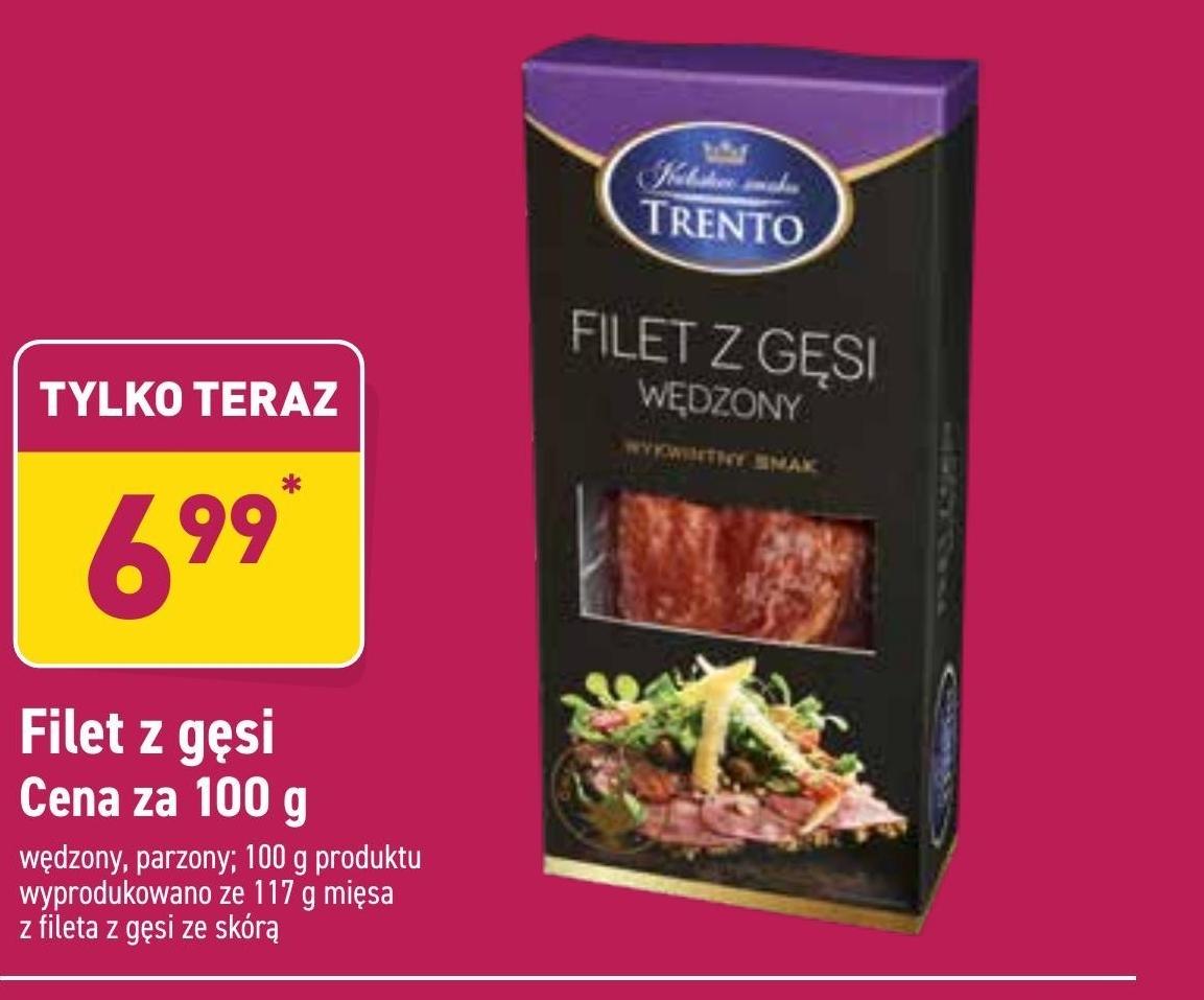 Filet z gęsi Trento niska cena