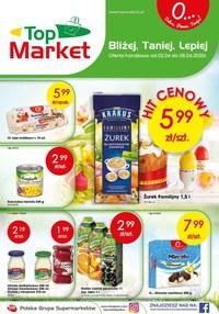 Gazetka promocyjna Top Market - Bliżej, taniej, lepiej - Top Market - ważna do 08-04-2020