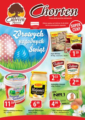 Wielkanocna oferta Chorten!