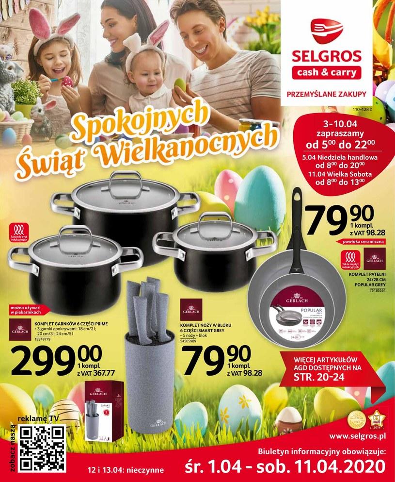Gazetka promocyjna Selgros Cash&Carry - ważna od 01. 04. 2020 do 11. 04. 2020