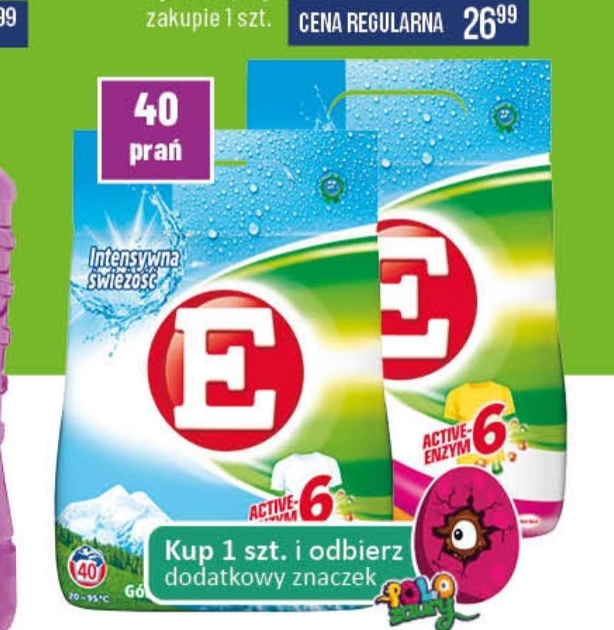 Proszek do prania E niska cena