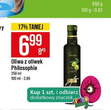 Oliwa z oliwek Philiosophie