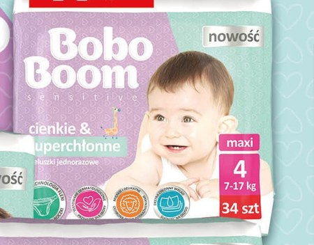 Pieluchy Bobo boom