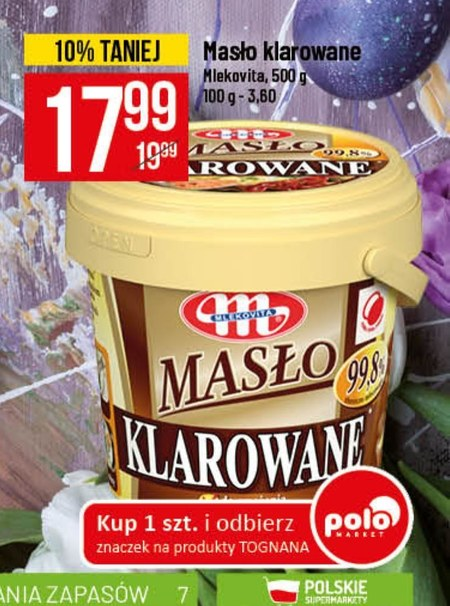 Masło klarowane Mlekovita