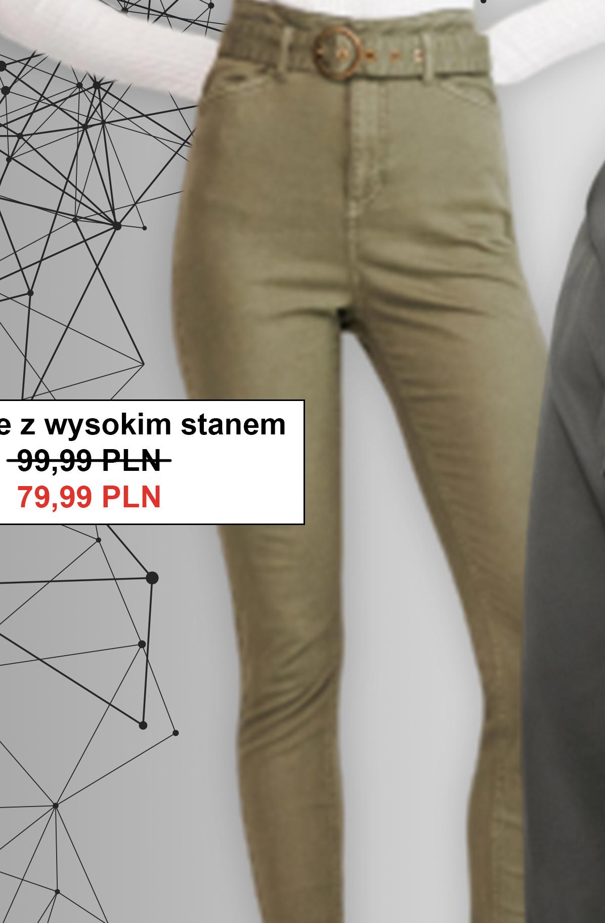 Spodnie damskie Reserved niska cena