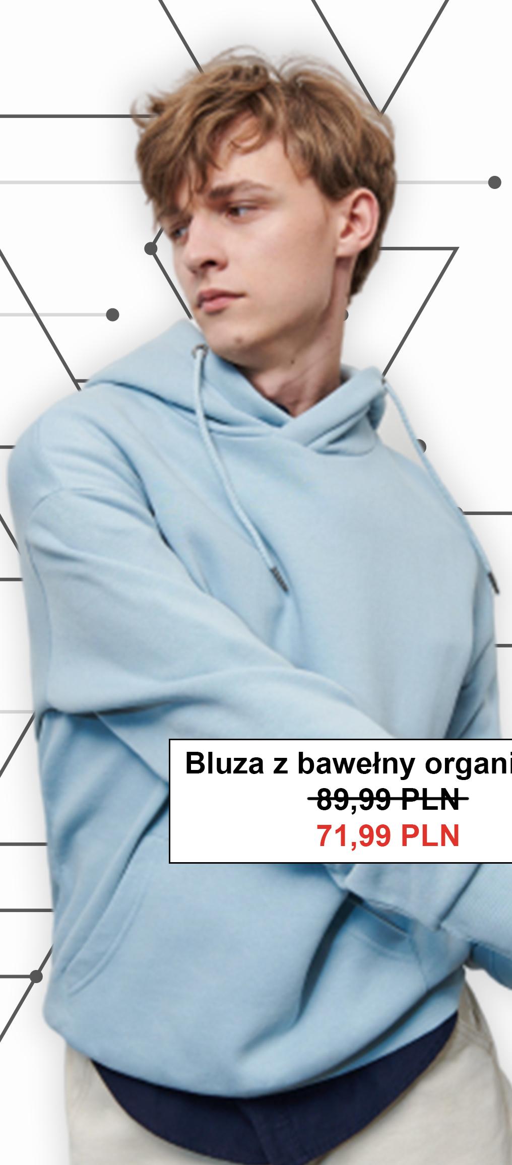 Bluza męska Reserved niska cena
